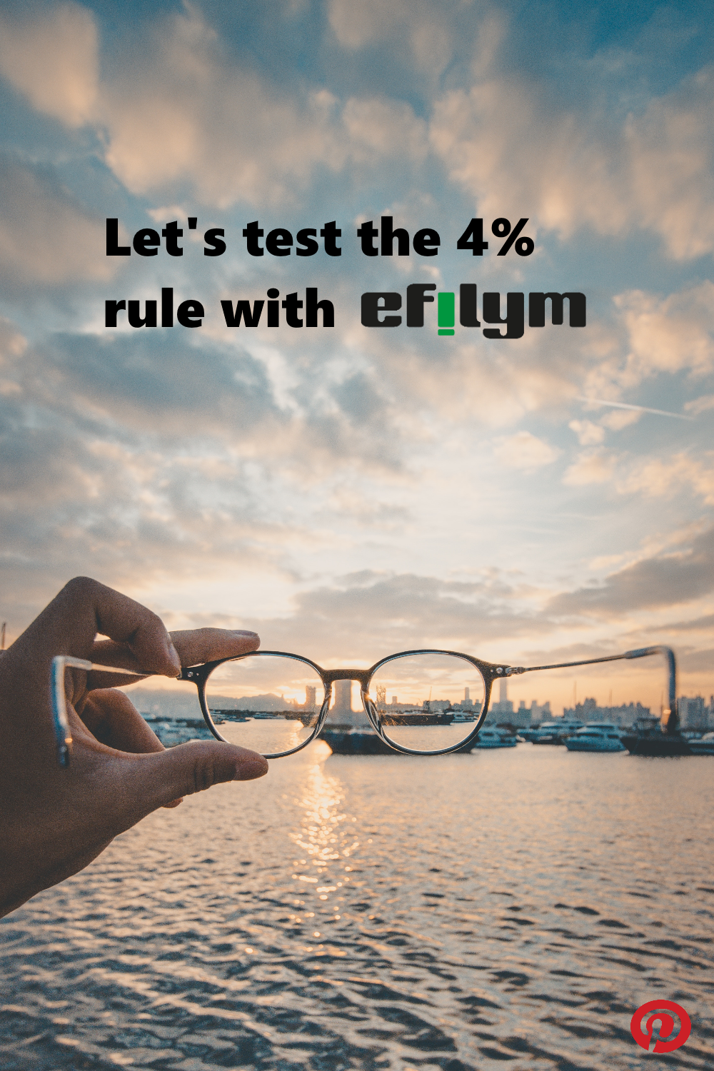Let\'s test the 4% rule with EFILYM!  Does the 4% rule pass the test and ensure at least 30 years of financial independent living for anyone contemplating a lifestyle change?
