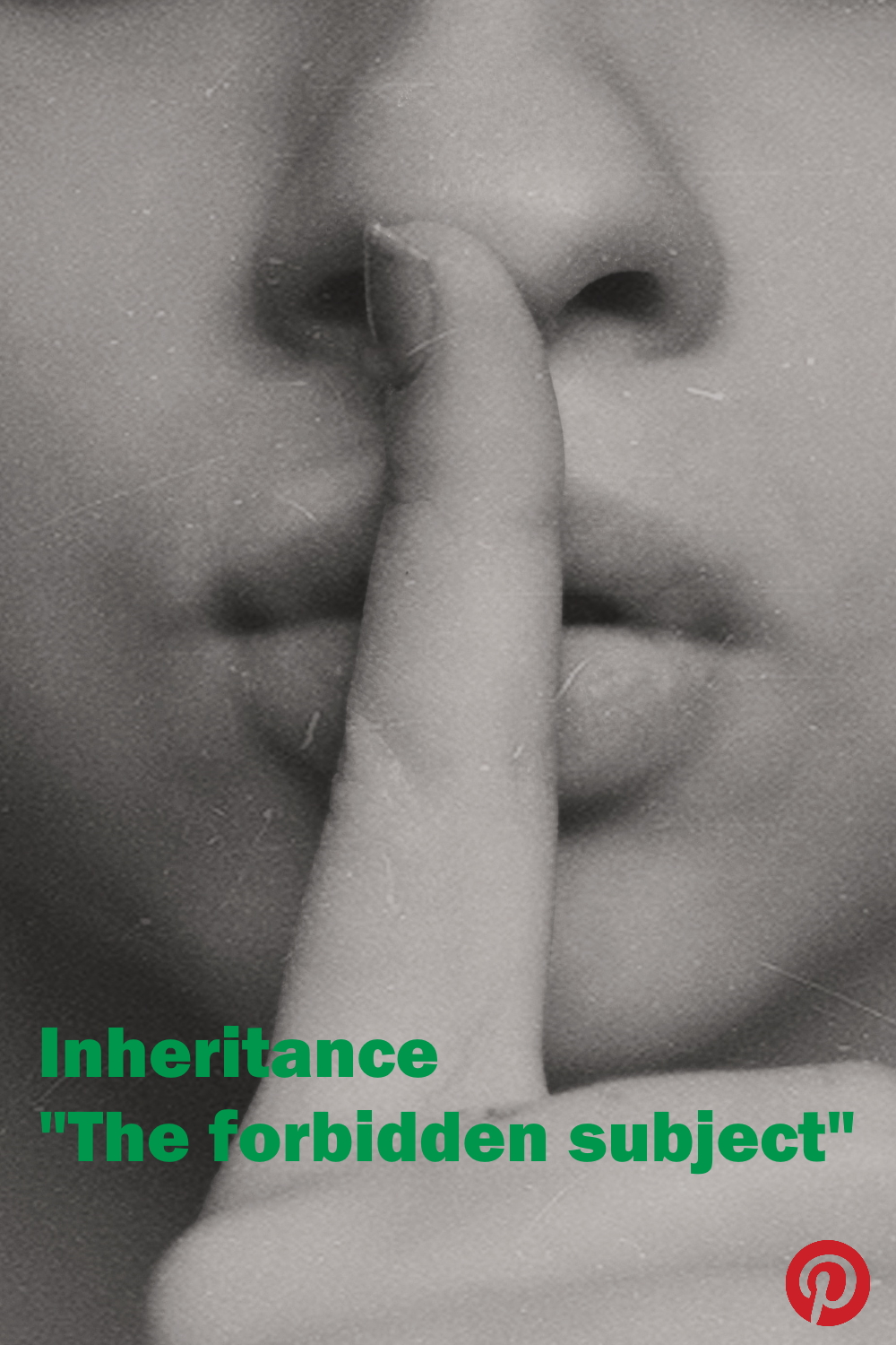 Inheritance - The forbidden subject!  What are the reasons why we need to open up the discussions around inheritance?